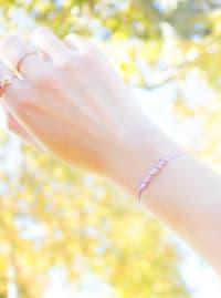 14K Gold Aquarius Bracelet - Gold - Back