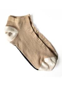 Technical Sport Sneaker Sock No Show - Nude - Back