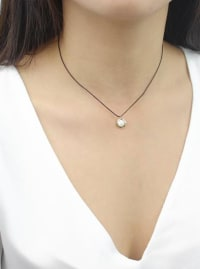 Relaxation Necklace - Gold - Back