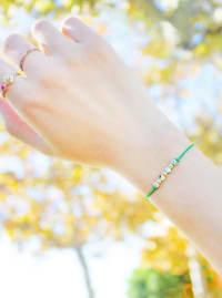 14K Gold Filled Sagittarius Bracelet - Gold - Back