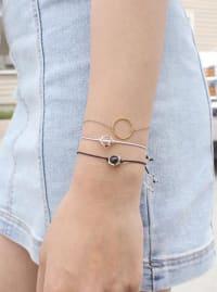 Power Bracelet - Gold - Back