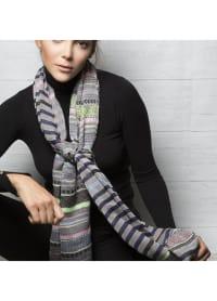 Oksana Scarf - Grey - Back