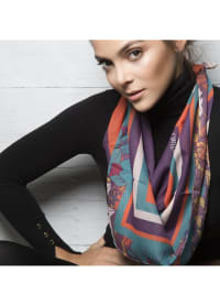 Lia Scarf - Orange - Back