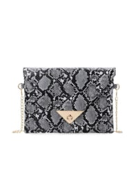 Adrian Clutch - Black - Back