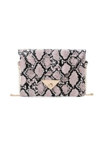 Adrian Clutch - Rose - Back