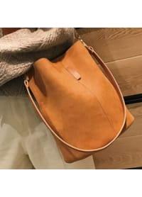 Blake Shoulder Bag -Brown - Back