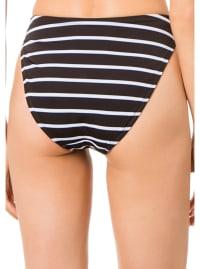 Black Nautical Heather Bottom - Plus - Black Nautical - Back