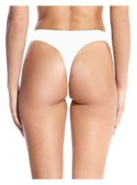 Thong Bottom - White - Back