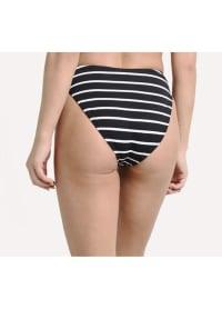 Black Nautical Heather Bottom - Black Nautical - Back
