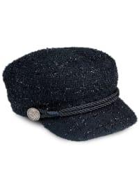 Adrienne Vittadini Fall Cadet Hat - Black - Back