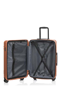 Champs 3-Piece Summit Hardside Luggage Set - Rose Gold - Back