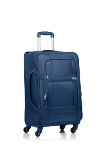 Champs 3-Piece Pacific Softside Luggage Set - Navy - Back