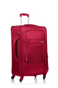 Champs 3-Piece Pacific Softside Luggage Set - Red - Back