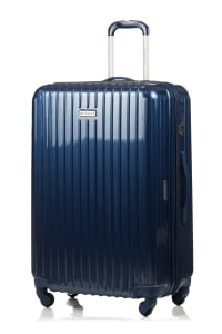 Champs 3-Piece Rome Hardside Luggage Set - Navy - Back