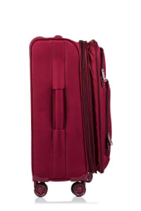 Champs 3-Piece Travelers Softside Luggage Set - Red - Back