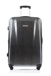 Champs 2-Piece Escape Hardside Luggage Set - Grey - Back