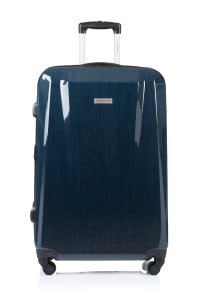 Champs 2-Piece Escape Hardside Luggage Set - Navy - Back