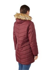 Modern Eternity - Lexi 3-in-1 Maternity Coat - Burgundy - Back