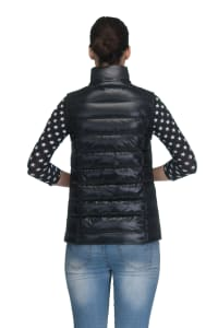 Modern Eternity - Lola 5-in-1 Down Maternity Jacket - Black - Back