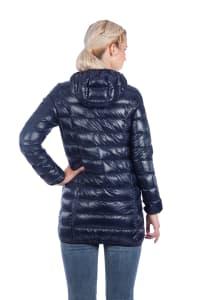 Modern Eternity - Ashley Down 3-in-1 Maternity Jacket - Navy - Back