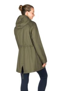 Modern Eternity - Lara 3-in-1 Maternity Jacket Military Style - Khaki Green - Back