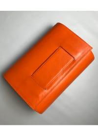 KD Clutch - Pumpkin Orange - Back