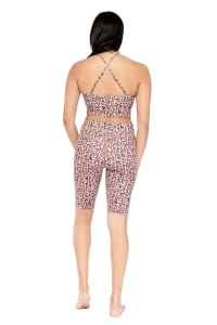 Harmless Yoga Short - Brown - Back
