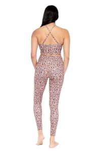 Freedom Cheetah Legging - Brown - Back