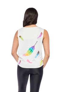 Peacock Top - Back