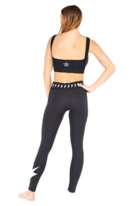 Power Leggings - Black - Back