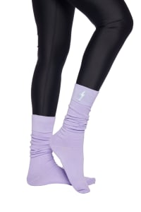 Long Socks - Lilac - Back