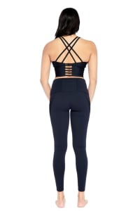 Honor Legging - Black - Back
