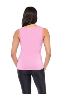 Keep It Up Tank - Pink - Back