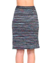 Tatiana Skirt - Grey / Multi - Back