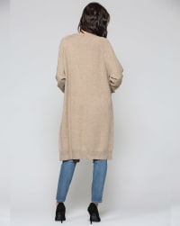 Holly Cardigan - Mocha - Back