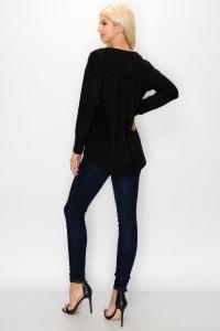 Andrea Top - Black - Back