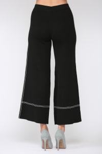 Selena Knitted Flared Pants - Back