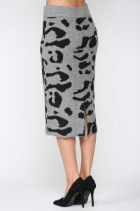 Samara Skirt - Black / Gray - Back