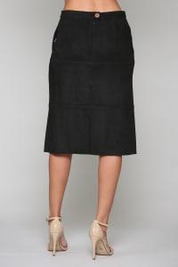 Abby Skirt - Black - Back