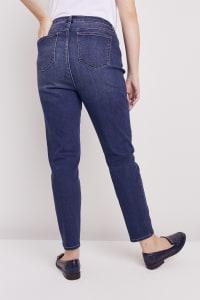 Plus Westport Incrediflex Denim Fit Solution 5 Pocket Skinny Jean - Plus - Back