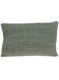 Heather Gray Moose Lodge Printed Pillow Cover - Grey - Back