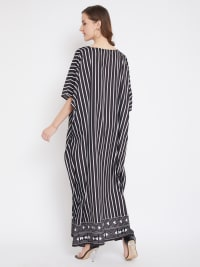 Stripes Kaftan - Back