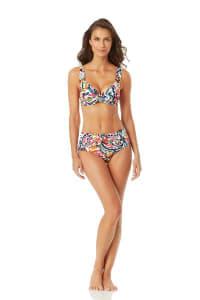 Anne Cole Under Wire Twist Front Bikini Swimsuit Top - Back