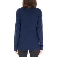 Pullover V-neck Sweater - Back