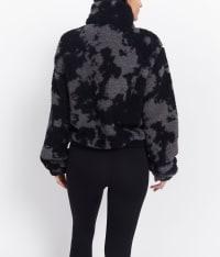 Tie Dye ½ Zip Fleece Sweater - Back