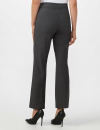 Roz & Ali Secret Agent Tummy Control Pants - Petite - Grey - Back