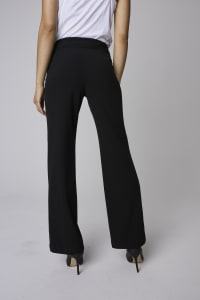 Roz & Ali Secret Agent Tummy Control Pants - Petite - Black - Back