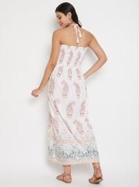 Floral Tubedress for Women - Plus - Back