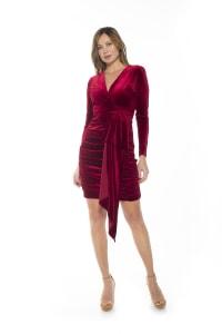 Juliana Draped Dress - Back