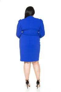 Aliana Mini Sheath - Plus - Back